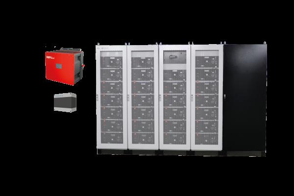 Stromspeichersystem Industrial mit REFU Wechselrichter und FENECON Energie Management System