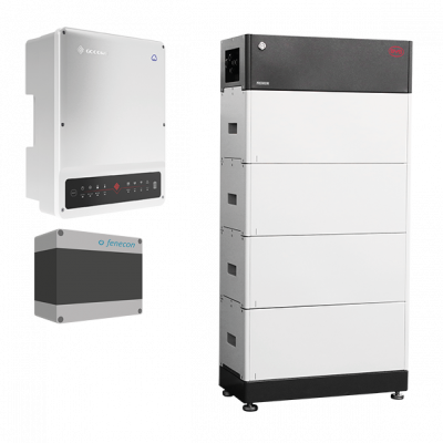 FENECON Heimspeicher Pro Hybrid GW-Serie, BYD Batterie mit GoodWe Wechselrichter und FEMS Anschlussbox